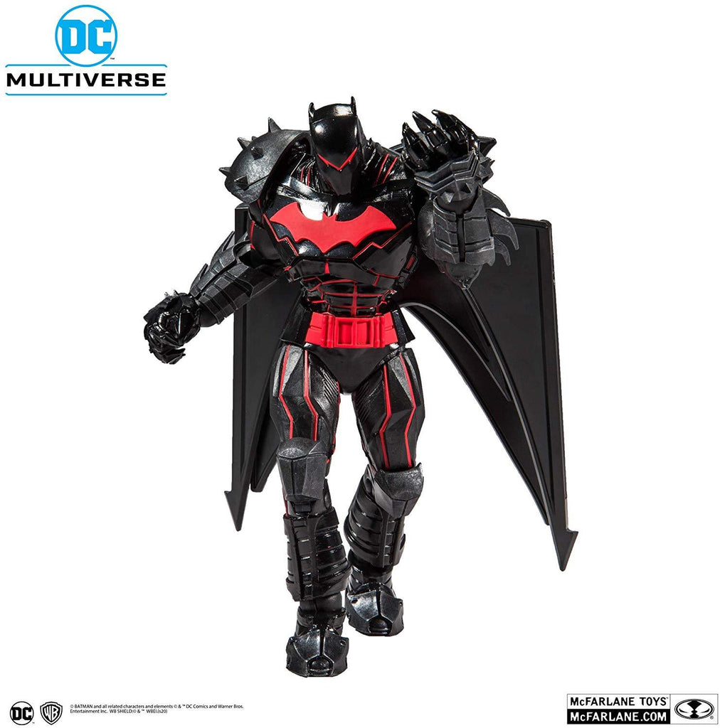DC Multiverse Armored Wave 1 Batman Hellbat Suit 7-Inch Action Figure 787926156010
