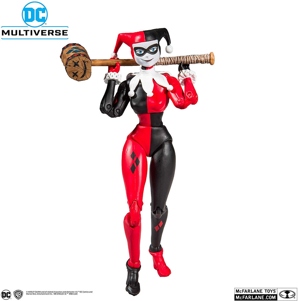 McFarlane DC Multiverse Harley Quinn (Classic) 7-Inch Action Figure 787926158021