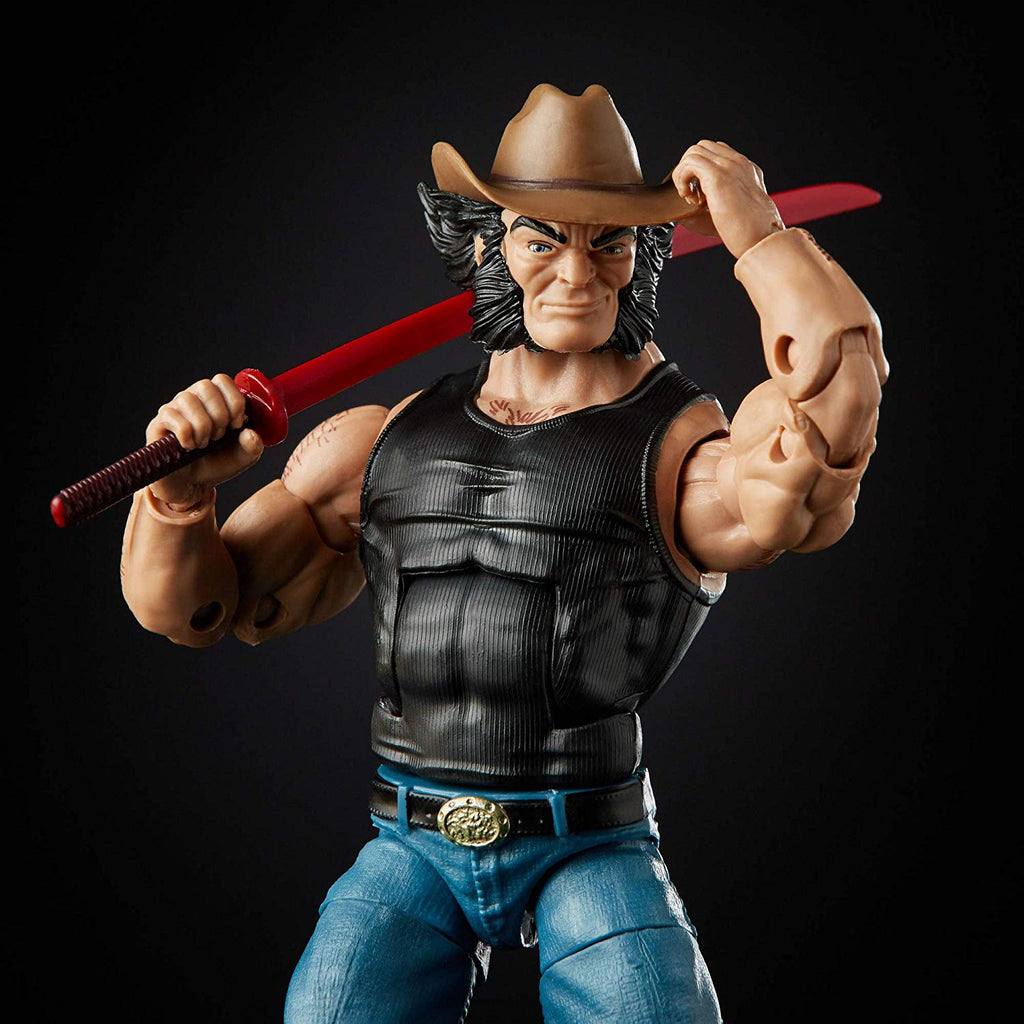 Marvel Legends X-Men Wolverine Cowboy Logan Action Figure, 6-inch - Exclusive 5010993647262
