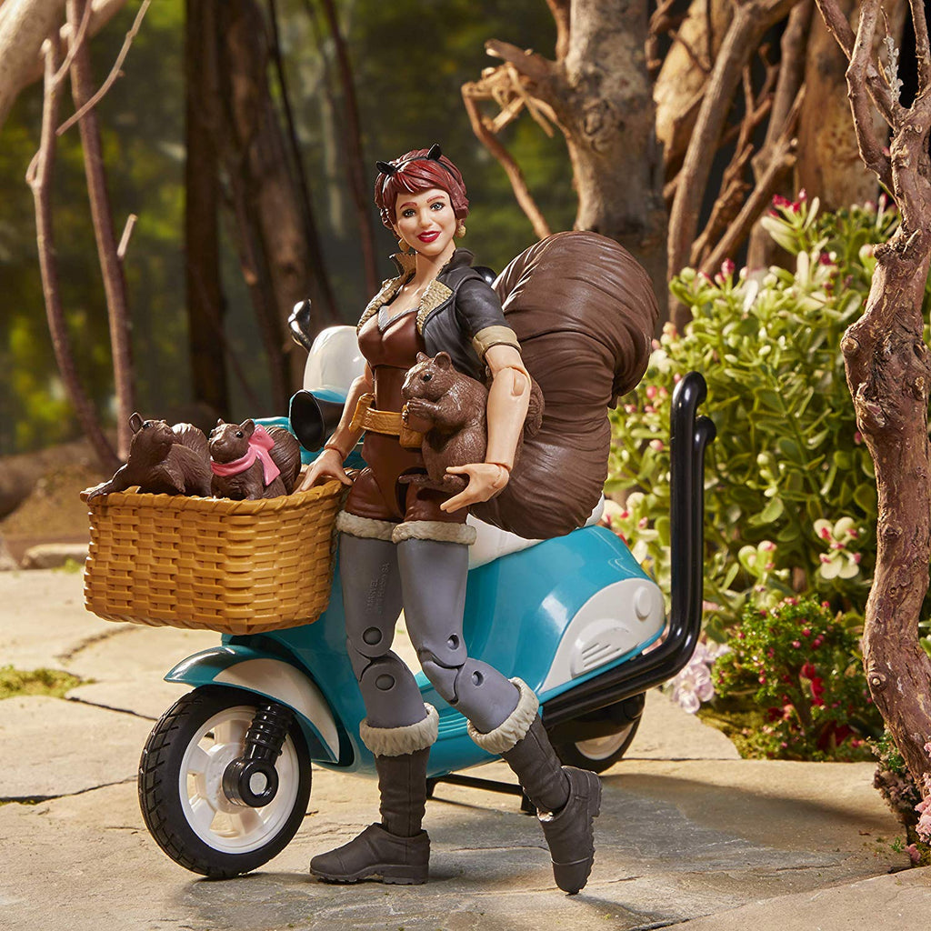 Marvel Legends The Unbeatable Squirrel Girl on Vespa Scooter 5010993655540