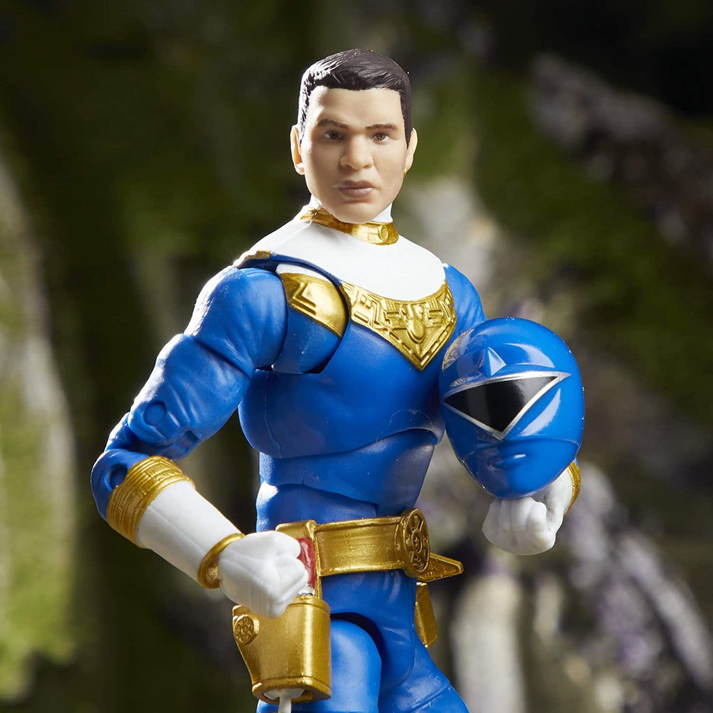 "Power Rangers Lightning Collection 6"" Zeo Blue Ranger Action Figure 630509905249"