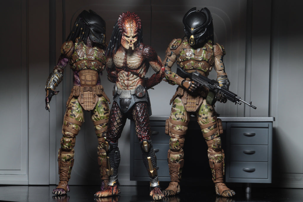 "NECA Predator Ultimate Fugitive Predator (Lab Escape) 7"" Scale Action Figure 634482515815 captured"
