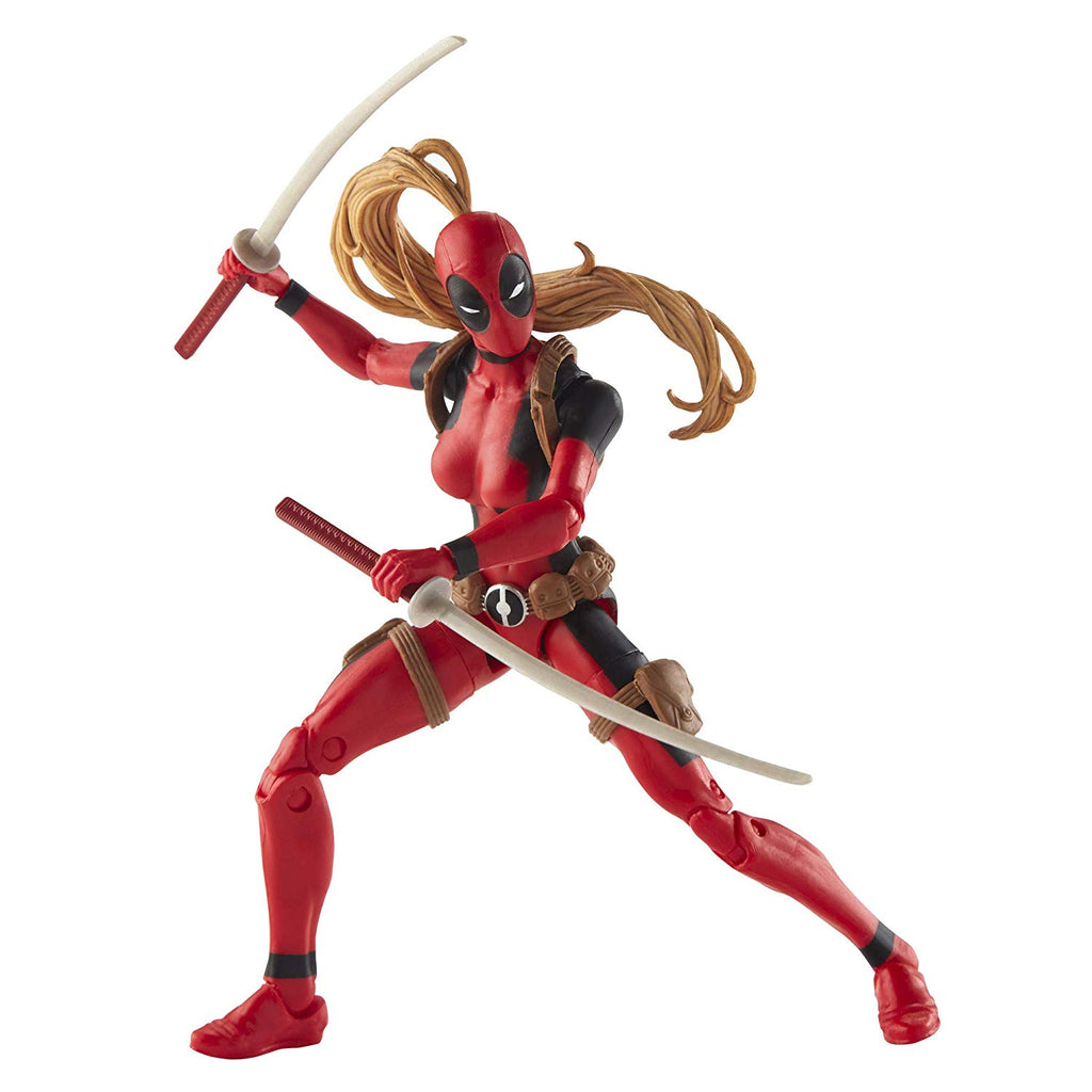 Marvel Legends Deadpool Lady Deadpool Action Figure, 6-inch 630509713677