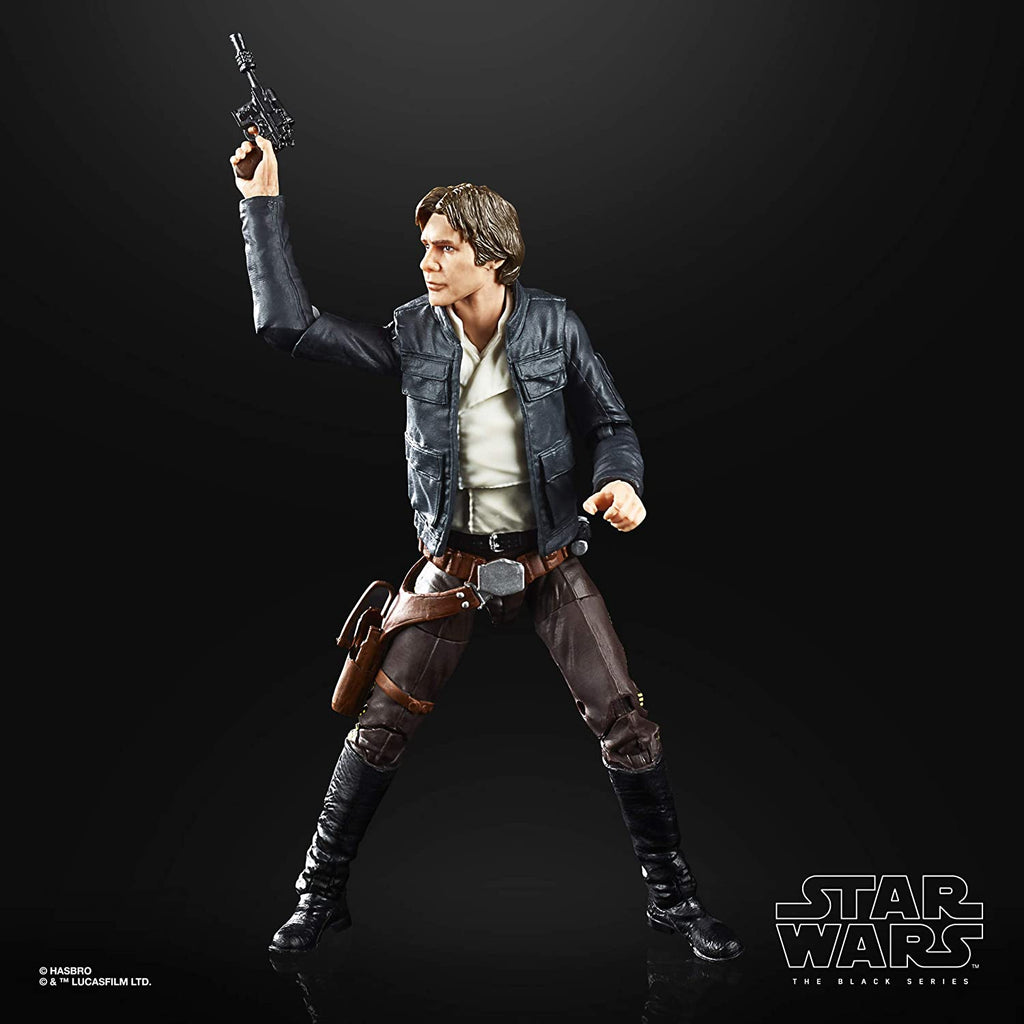 Star Wars The Black Series Han Solo (Bespin) 6-inch Scale The Empire Strikes Back 40TH Anniversary Collectible Figure 5010993678549