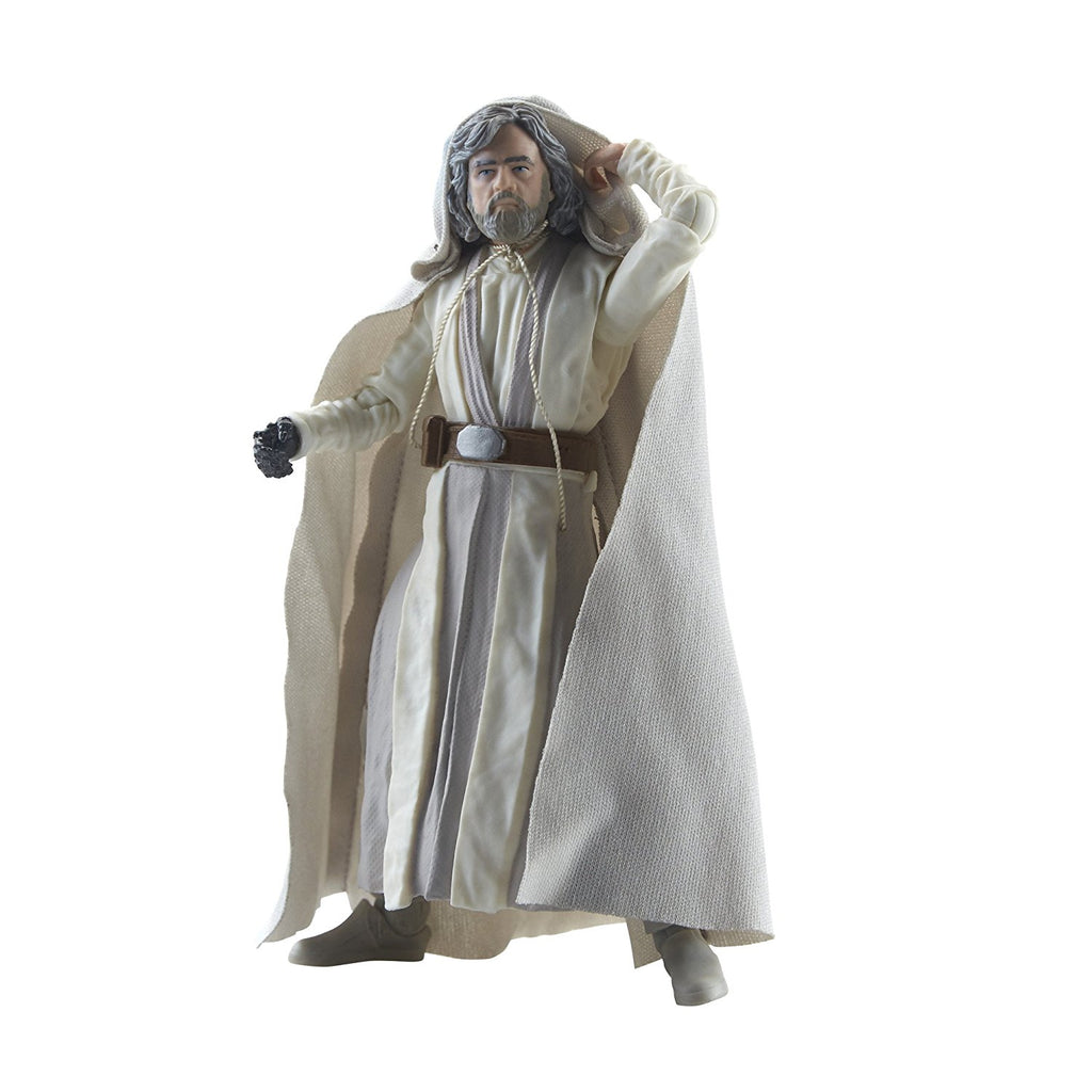 Star Wars The Black Series Episode 8 Luke Skywalker (Jedi Master), 6-inch pose 1