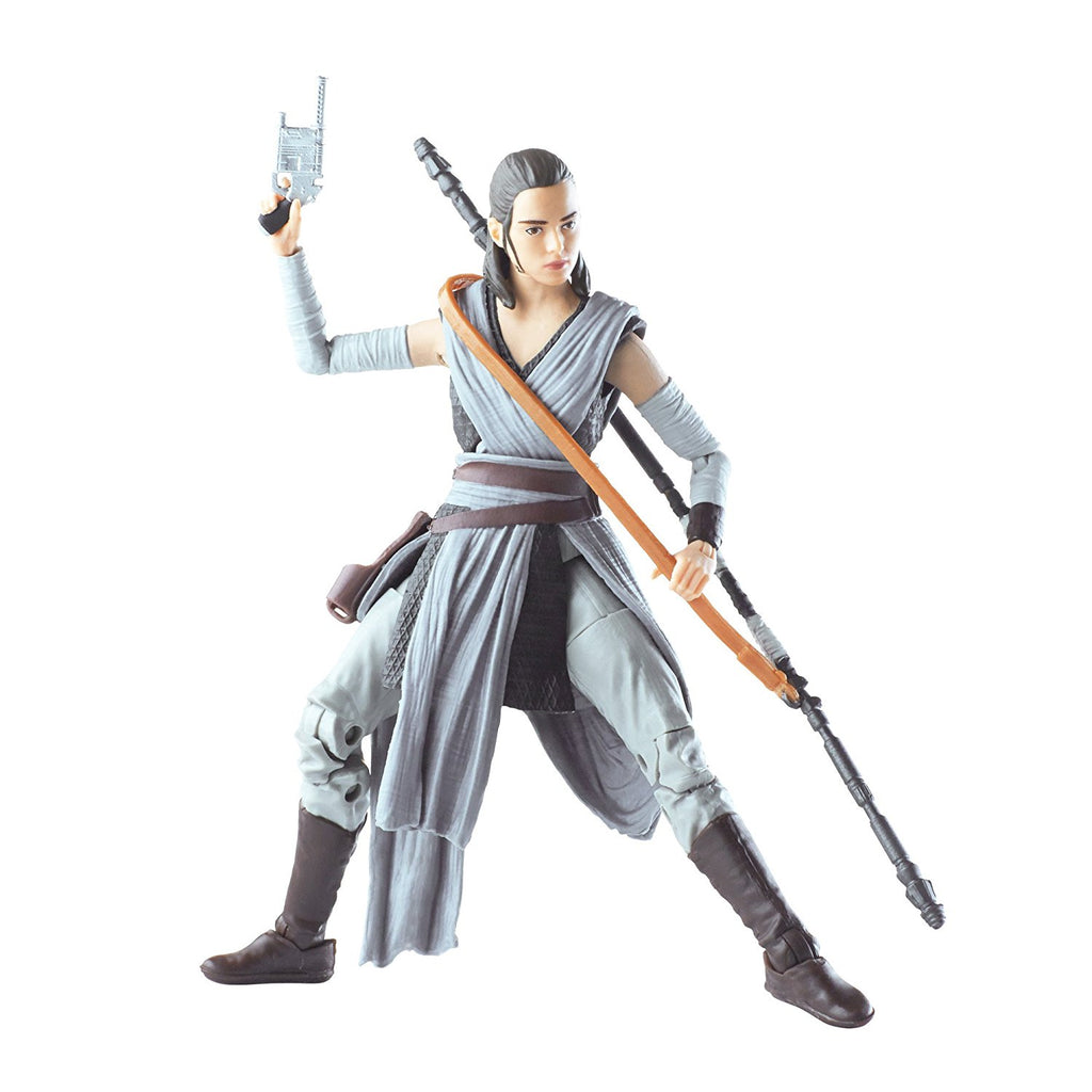 Star Wars The Black Episode 8 Series Rey (Jedi Training), 6-inch ready