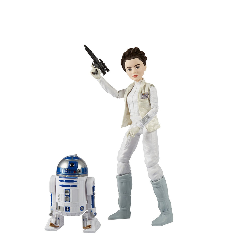 Star Wars Forces of Destiny Princess Leia Organa and R2-D2 Adventure Set ready