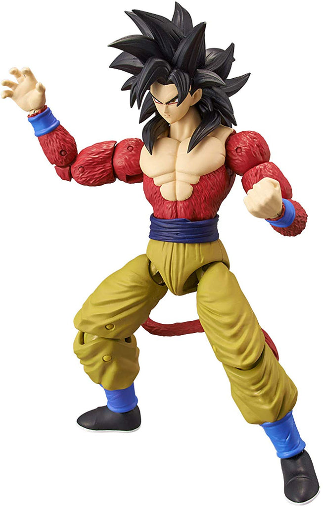 Dragon Ball Stars Super Saiyan 4 Goku Action Figure 045557361808