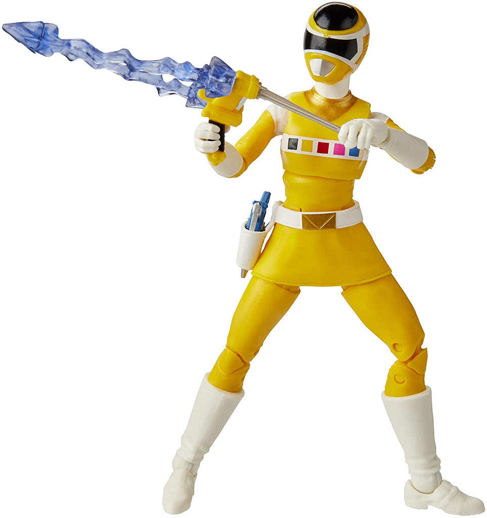 Power Rangers Lightning Collection 6 inch In Space Yellow Ranger 630509960453