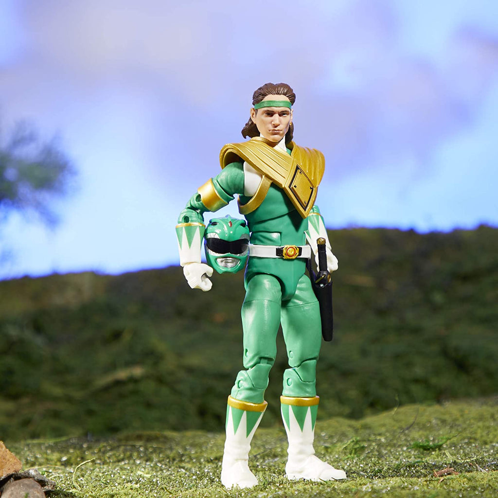 "Power Rangers Lightning Collection 6"" Mighty Morphin Green Ranger 630509986026"