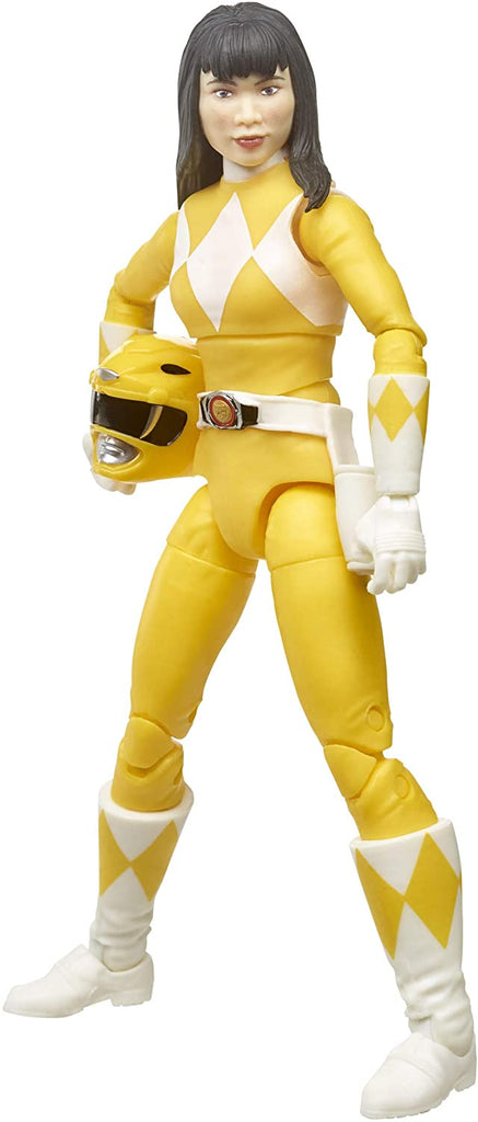 Power Rangers Lightning Collection 6 inch Mighty Morphin Yellow Ranger 630509905270