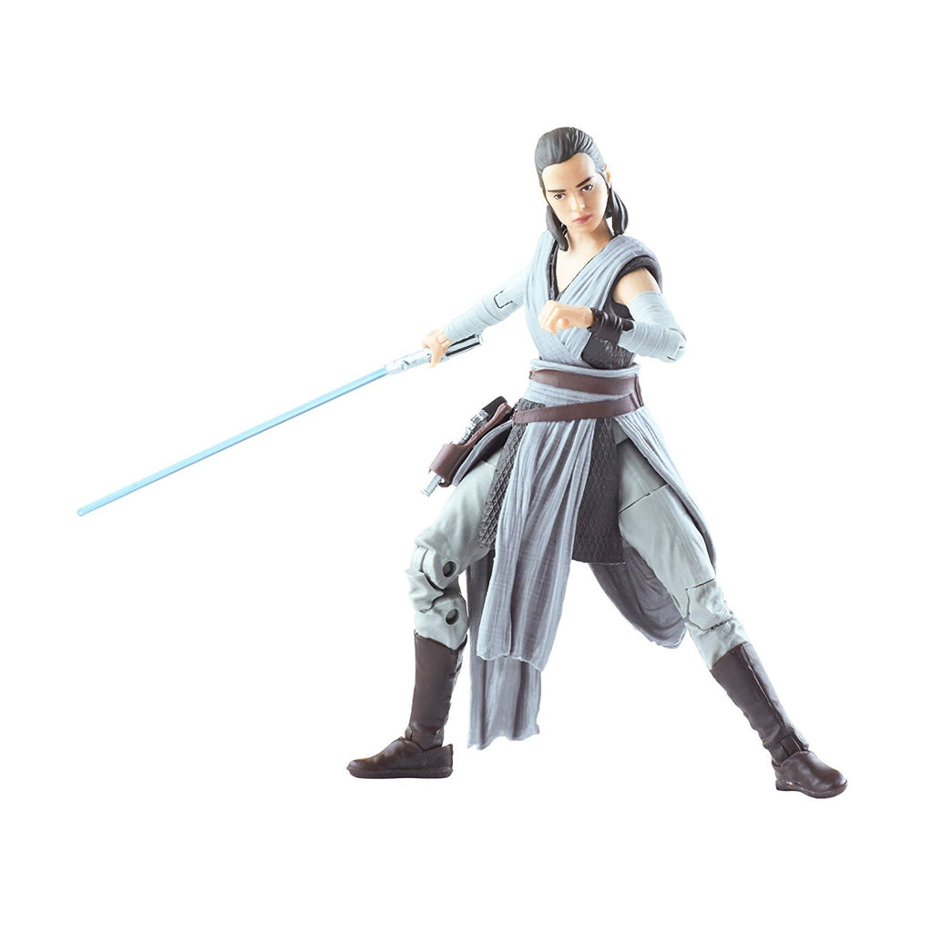Star Wars The Black Episode 8 Series Rey (Jedi Training), 6-inch guard