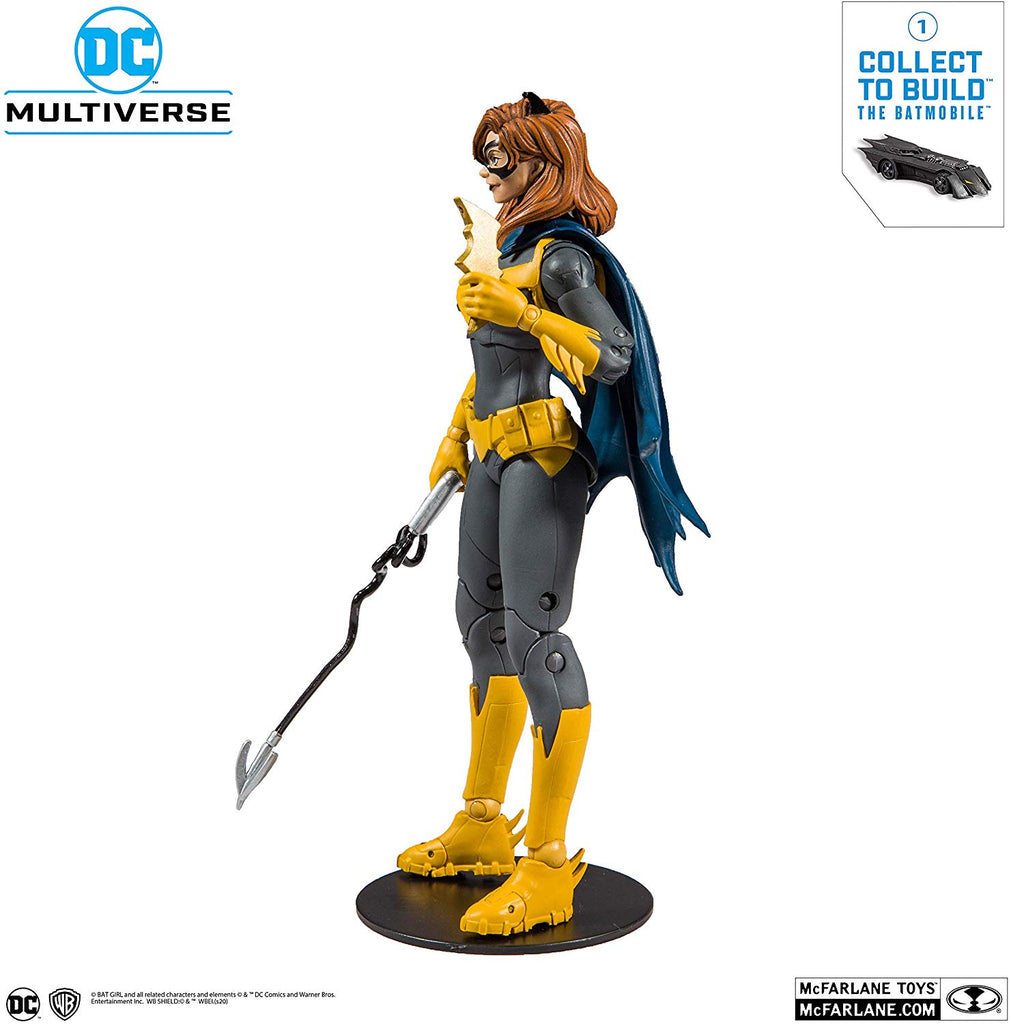 DC Collector Multiverse Wave 1 Batgirl 7-Inch Action Figure 787926154016