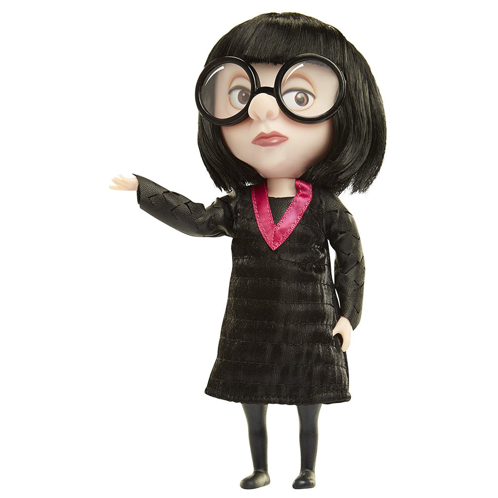 The Incredibles 2 Edna Deluxe Costume and Glasses Action Figure 039897772196