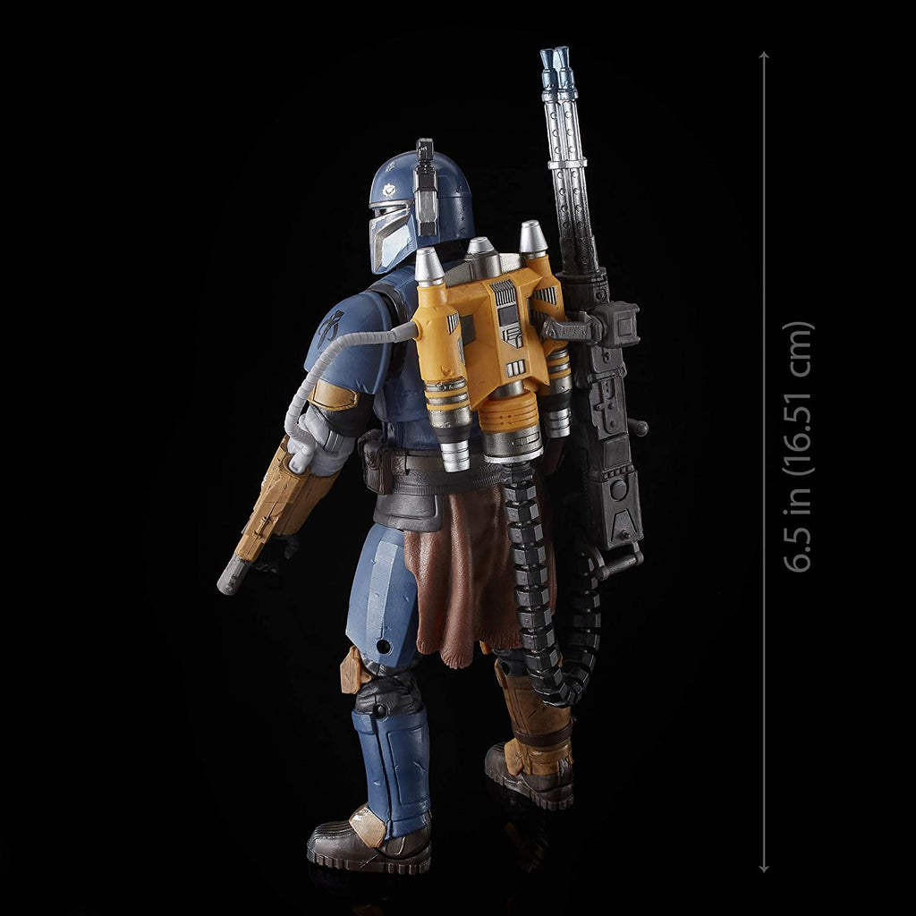Star Wars The Mandalorian Black Series 6 inches Heavy Infantry Mandalorian 630509862061
