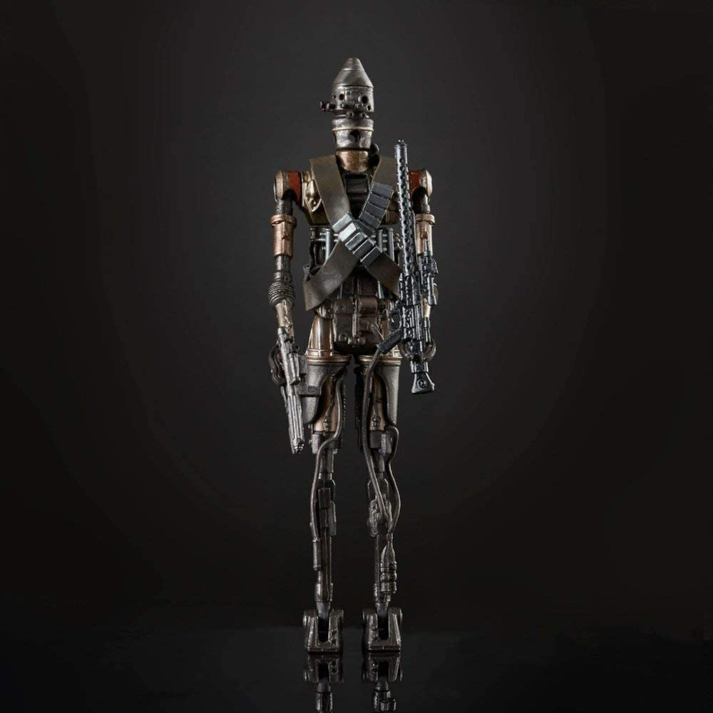 "Star Wars: The Mandalorian Black Series 6"" IG-11 Droid 630509881215"
