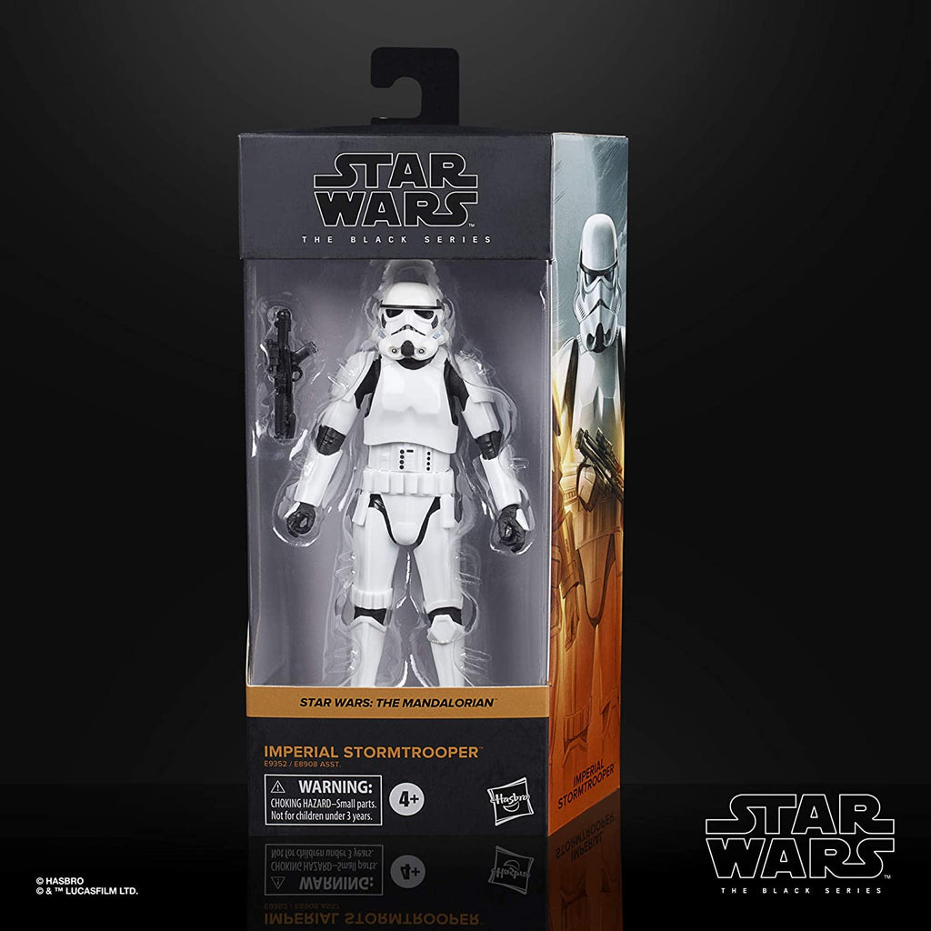 Black Series Star Wars: The Mandalorian - Imperial Stormtrooper 6 inch Action Figure 5010993749171