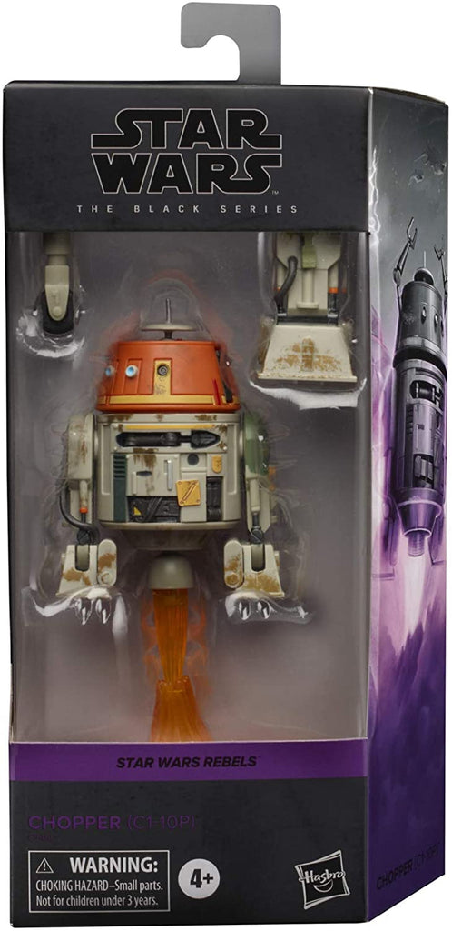 Black Series Star Wars Rebels Chopper (C1-10P) 6 inch Action Figure 5010993743698
