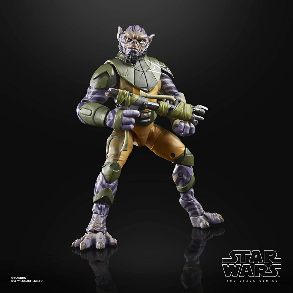 Black Series Star Wars: Rebels - Garazeb Zeb Orrelios 6 inch Action Figure 5010993699636