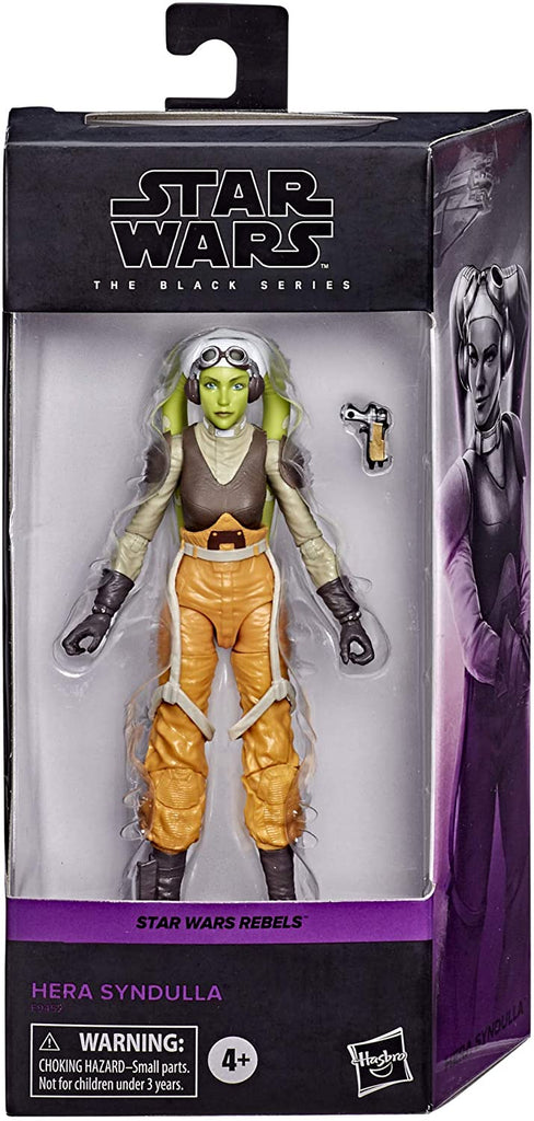 Black Series Star Wars Rebels Hera Syndulla 6 inch Action Figure 5010993744138