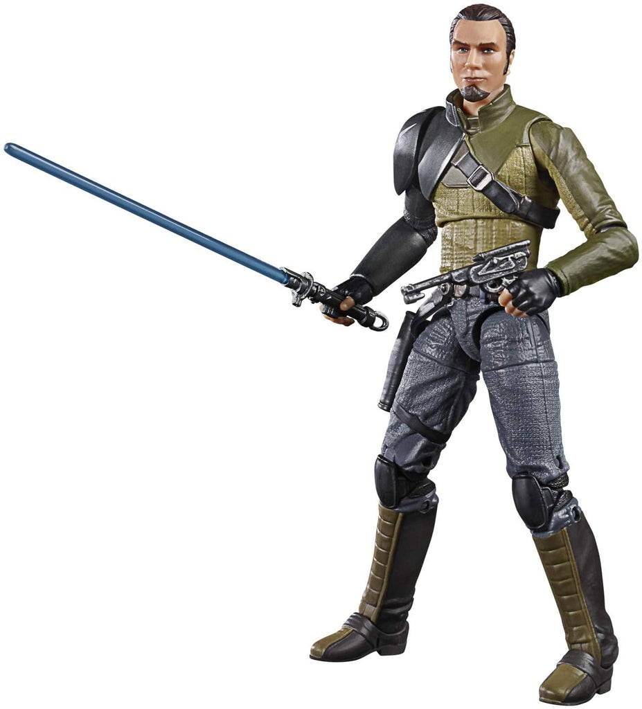 Black Series Star Wars Rebels Kanan Jarrus 6 inch Action Figure 5010993729555