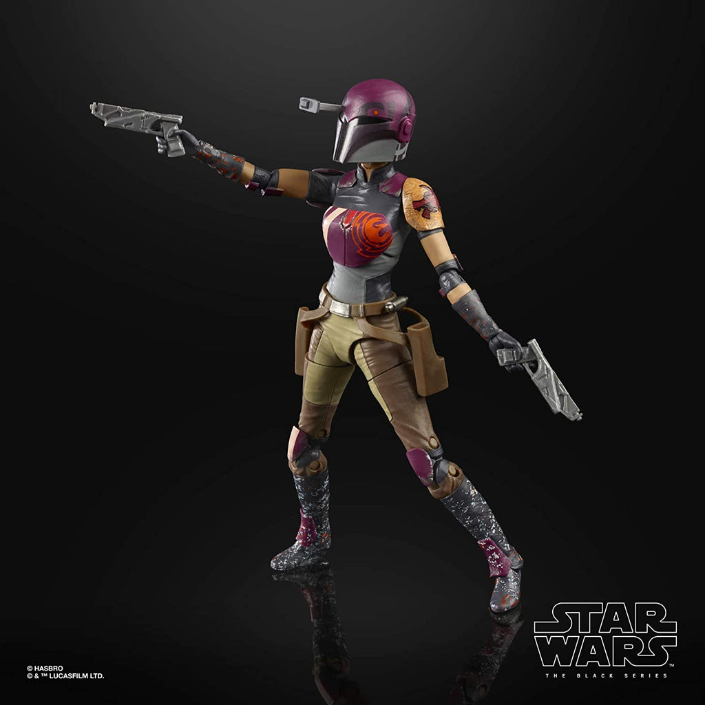 "Black Series Star Wars: Rebels - Sabine Wren 6"" Action Figure 5010993744015"