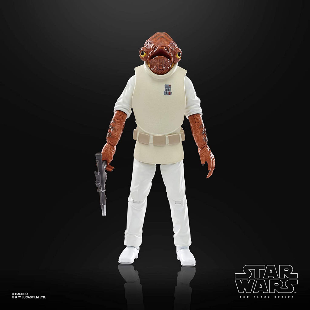 Black Series Star Wars: Return of the Jedi - Admiral Ackbar 6 inch Action Figure  5010993749225