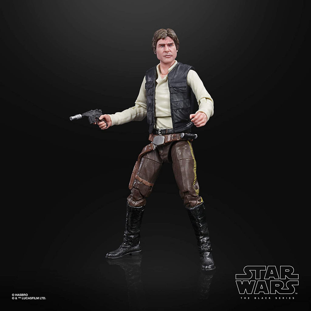 Black Series Star Wars: Return of the Jedi - Han Solo (Endor) 6 inch Scale Action Figure 5010993754700