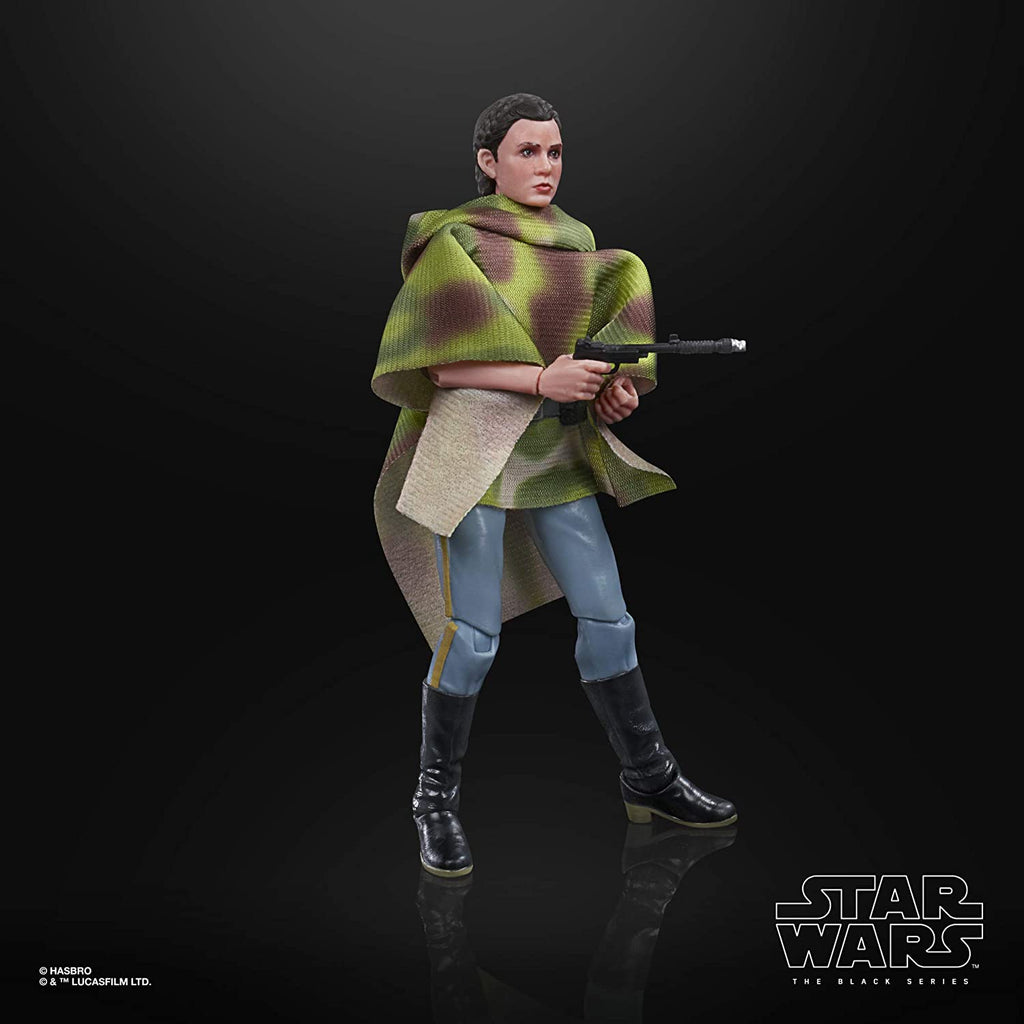Black Series Star Wars: Return of the Jedi - Princess Leia Organa (Endor) 6 inch Scale Action Figure 5010993755622