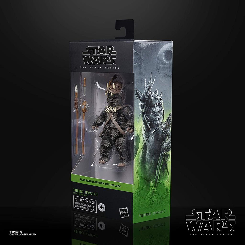 Black Series Star Wars: Return of the Jedi - Teebo (Ewok) 6 inch Scale Action Figure 5010993749201
