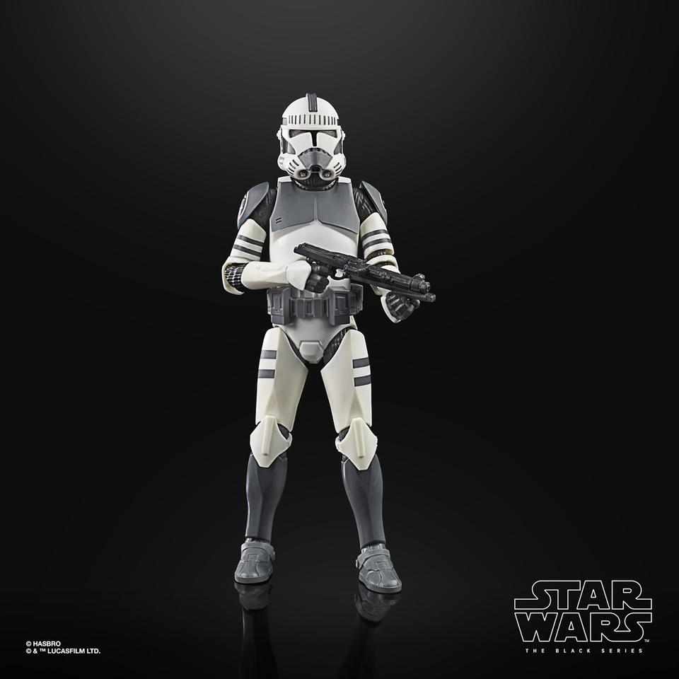 "Black Series Star Wars: The Clone Wars - Clone Trooper (Kamino) 6"" Action Figure 5010993749232"