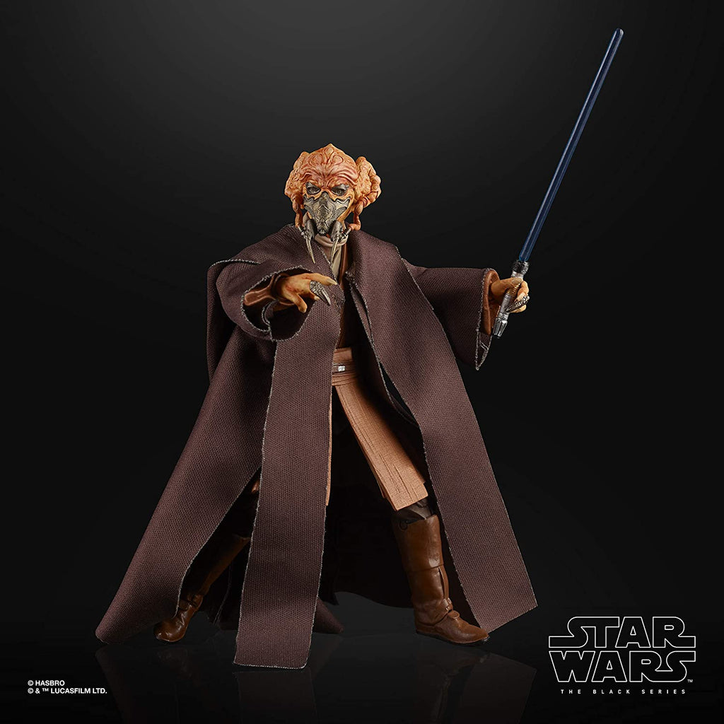 Star Wars: The Clone Wars Black Series Plo Koon 6 inch Action Figure 630509954025