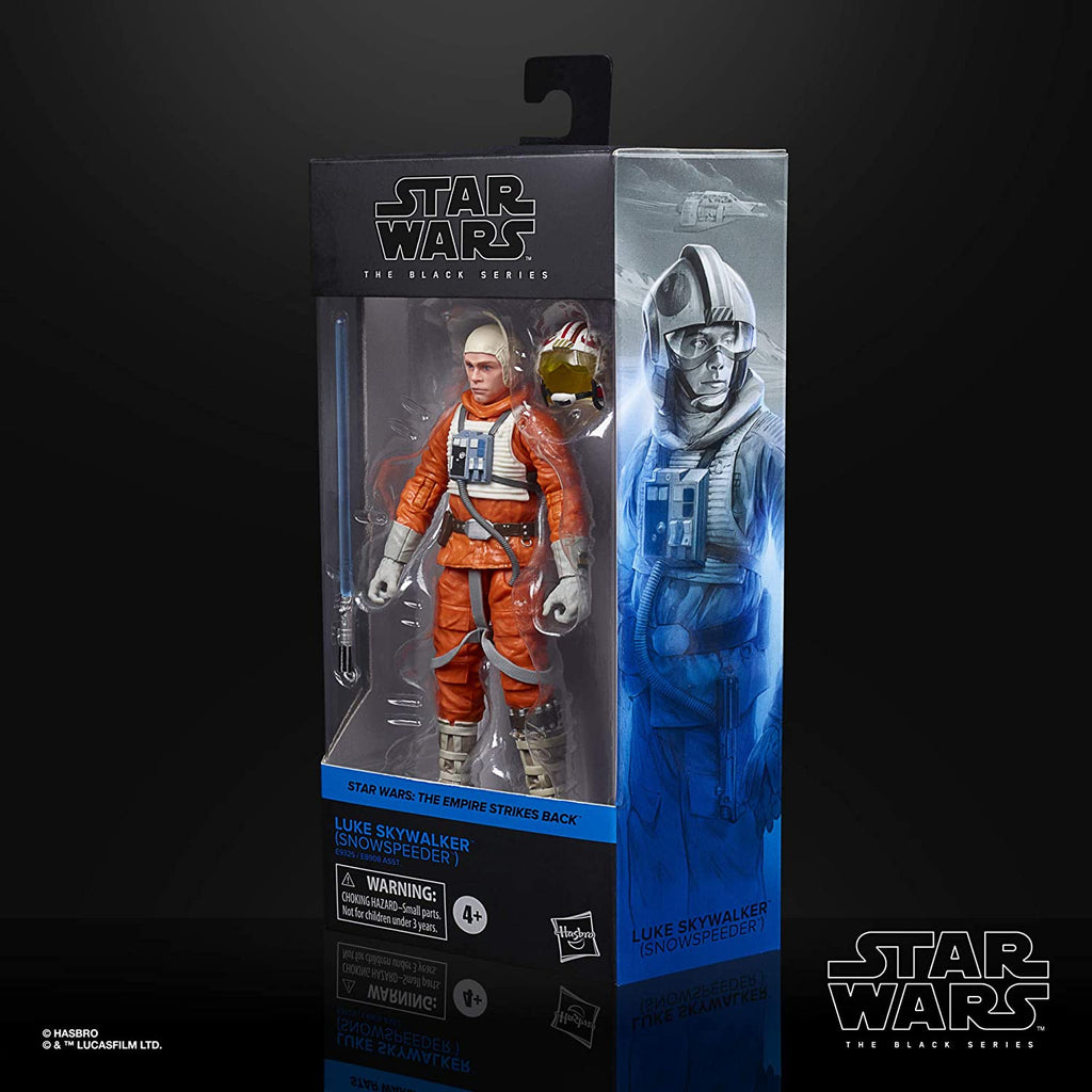 Black Series Star Wars: TESB - Luke Skywalker (Snowspeeder) 6 inch Action Figure 5010993749188
