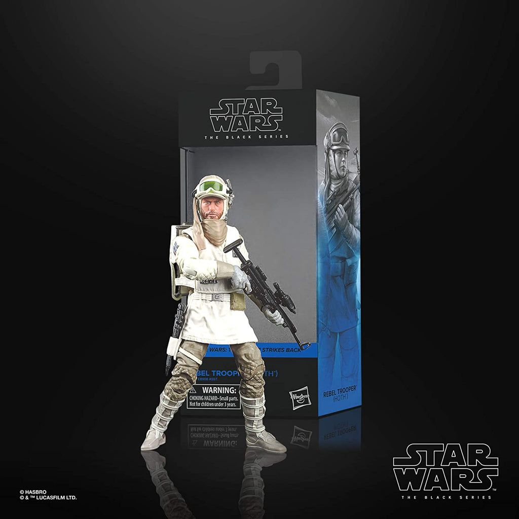 "Black Series Star Wars: TESB - Rebel Trooper (Hoth) 6"" Action Figure 5010993754656"
