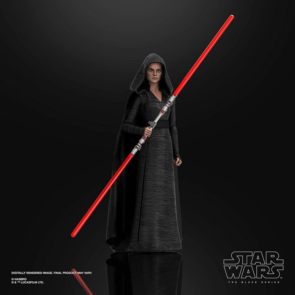 Black Series Star Wars: The Rise of Skywalker - Rey (Dark Side Vision) 6 inch Action Figure 5010993790012