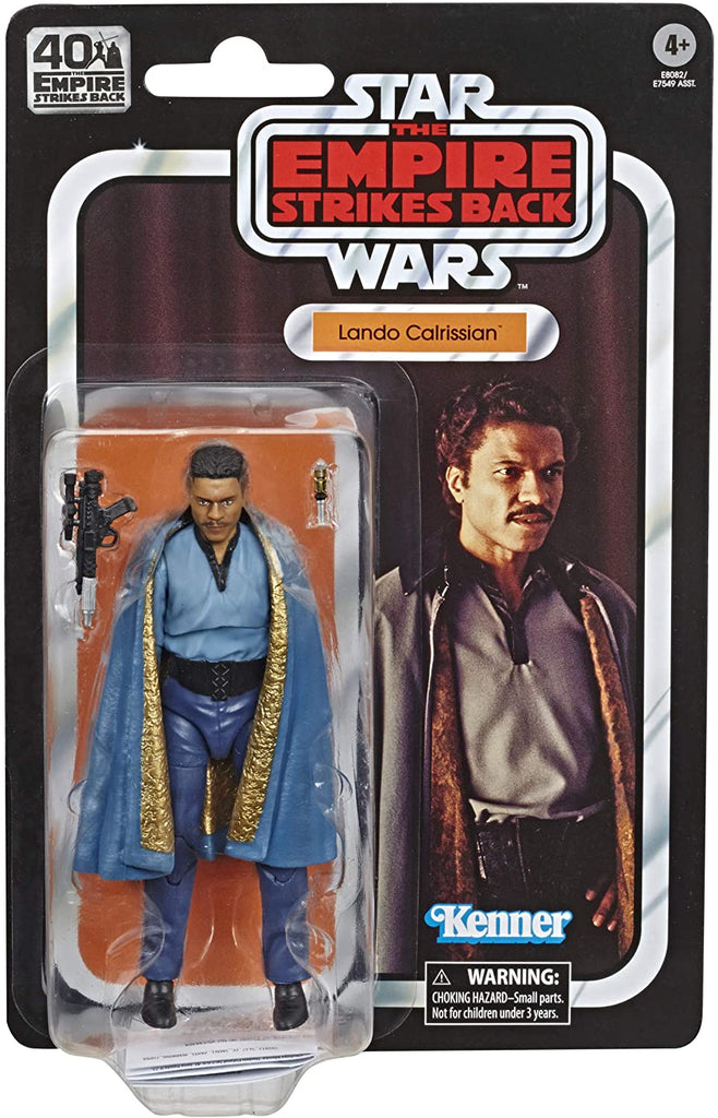 Star Wars Black Series Lando Calrissian - The Empire Strikes Back 40TH Anniversary 6 inch Figure 5010993695034
