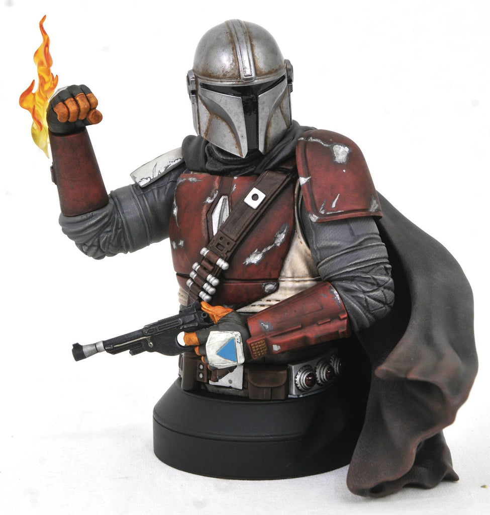 Star Wars Mandalorian MK1 1:6 Scale Mini-Bust 699788837955