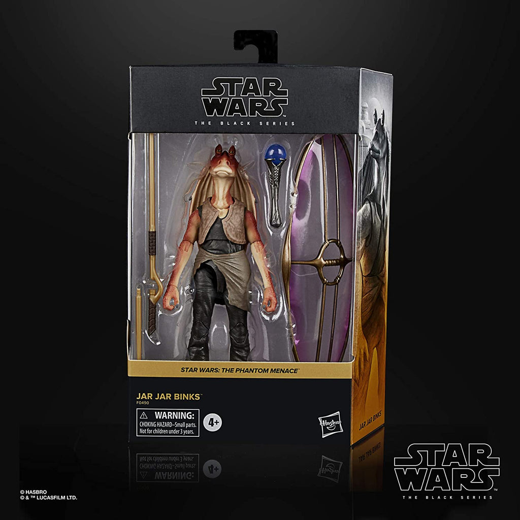Black Series Star Wars: The Phantom Menace - Jar Jar Binks 6 inch Action Figure 5010993782680