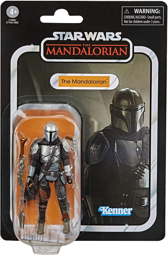 Star Wars The Vintage Collection The Mandalorian (Beskar Armor) Figure 3.75 Inches 5010993801374