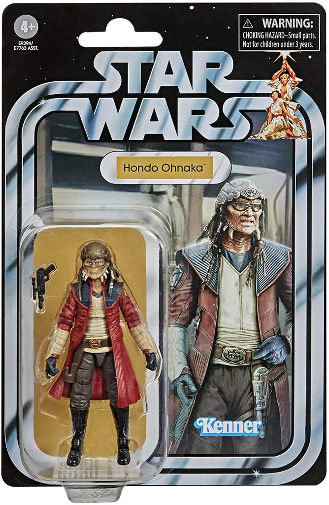 Star Wars The Vintage Collection Hondo Ohnaka Figure 3.75 Inches 5010993749515