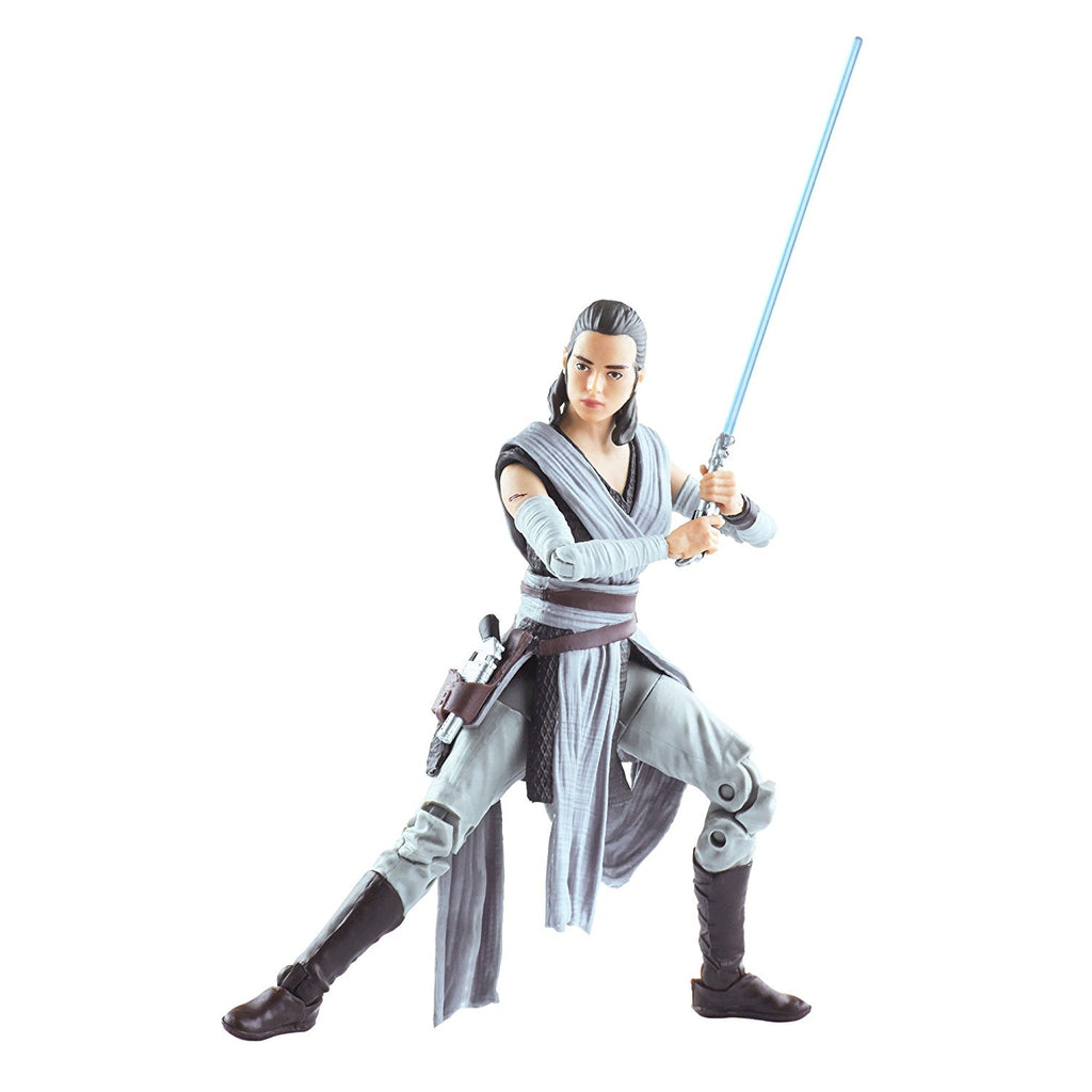 Star Wars The Black Episode 8 Series Rey (Jedi Training), 6-inch strike