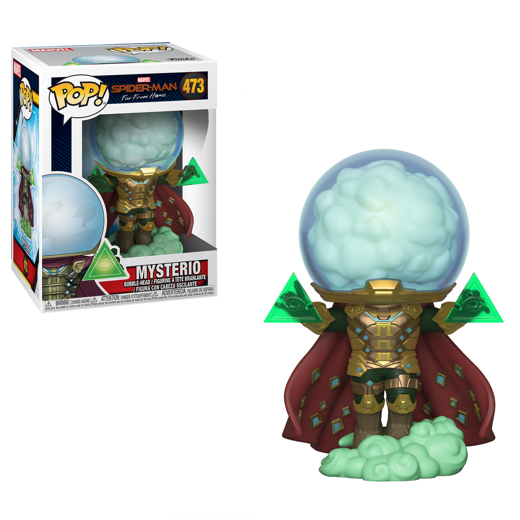 Funko Pop Marvel: Mysterio - Spider-Man Far From Home Collectible Figure 889698392068