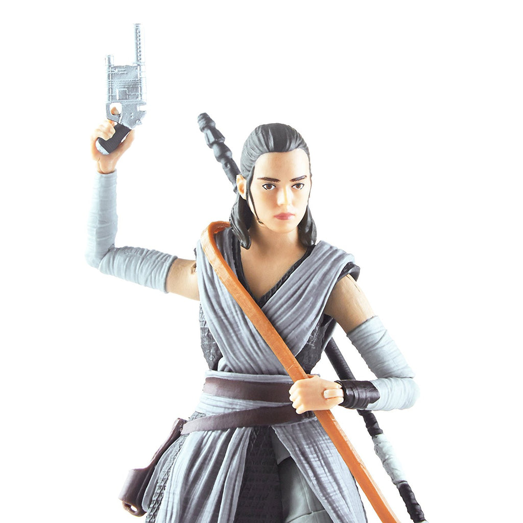 Star Wars The Black Episode 8 Series Rey (Jedi Training), 6-inch zoom