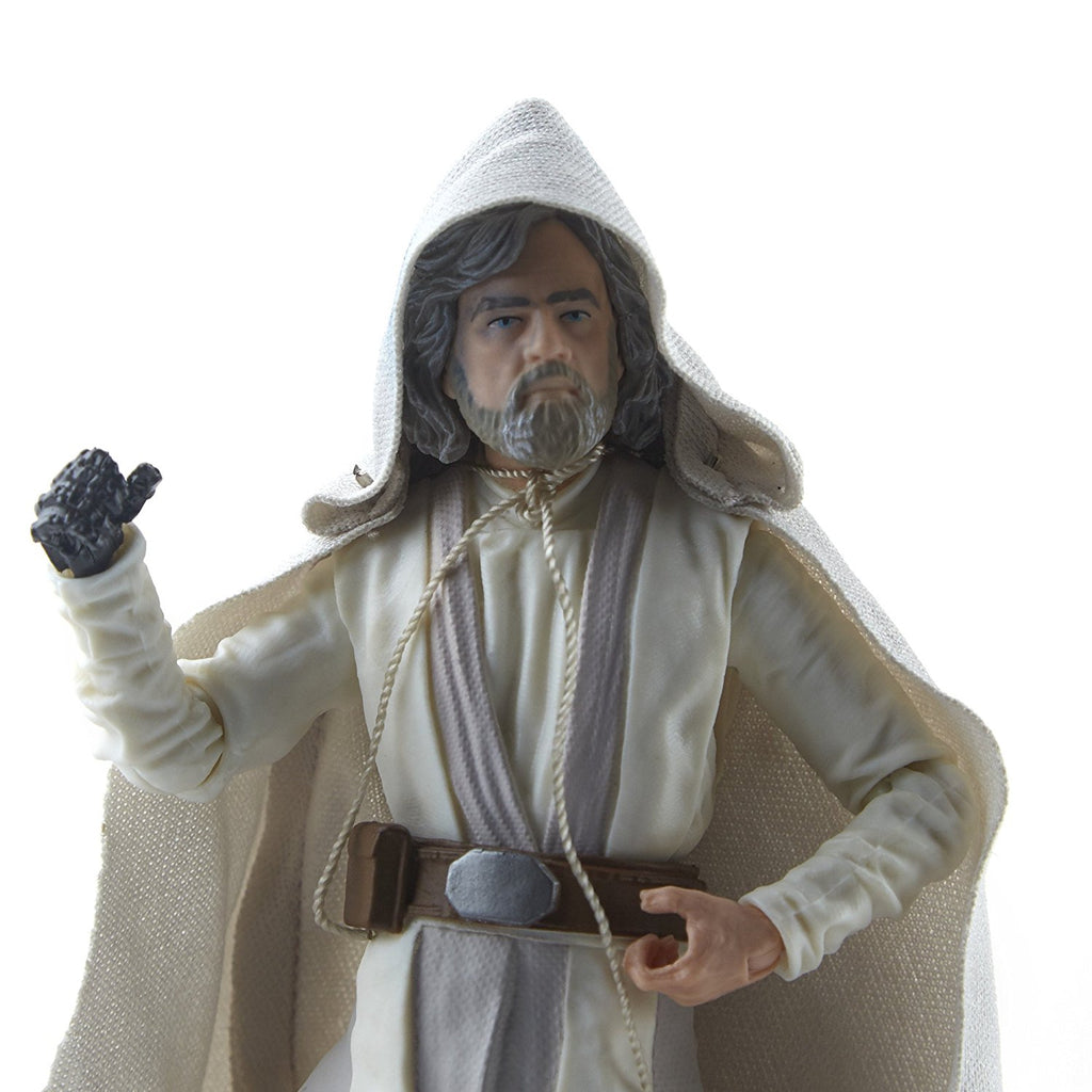 Star Wars The Black Series Episode 8 Luke Skywalker (Jedi Master), 6-inch zoom