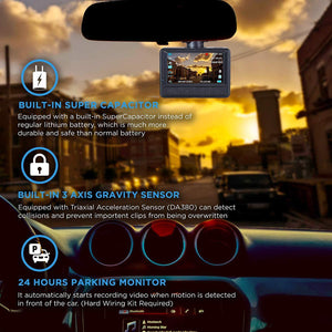 Rove R1 Smart Dash Cam 1080p With SONY Sensor, Built-In Wi-Fi, Optional GPS Support