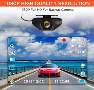 Full HD 1080P Rear View Camera for Rove Stealth 4K Dash Cam