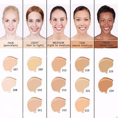 100% ORIGINAL DERMACOL MAKE UP FOUNDATION