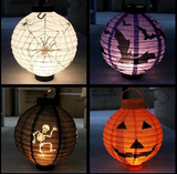 LED Paper Pumpkin Lantern
