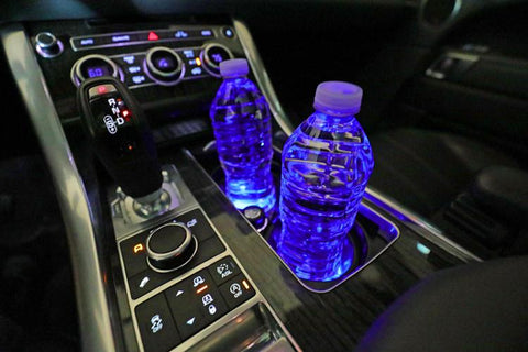 LED Car Cup Holder - 2PCS