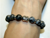 Collection Serenity * - Bracelet Labradorite et Bouddha